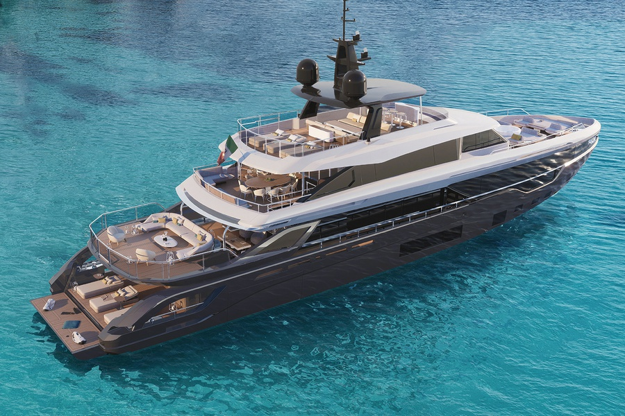 new boat Azimut / Grande / TRIDECK project_image