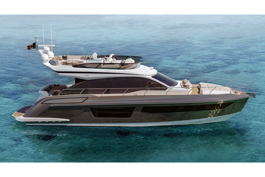 new boat Azimut / Flybridge / 53 Project_image